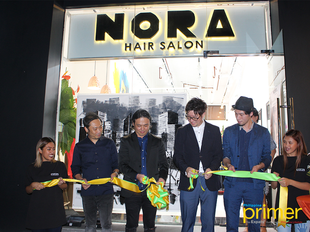nora hair salon manila s grand opening philippine primer. Black Bedroom Furniture Sets. Home Design Ideas