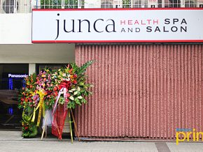 LOOK: Junca Health Spa and Salon's new branch in Medical Towers, Makati