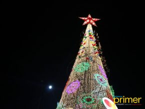 Christmas Lights Illuminates Gigantic Tree at Circuit Makati