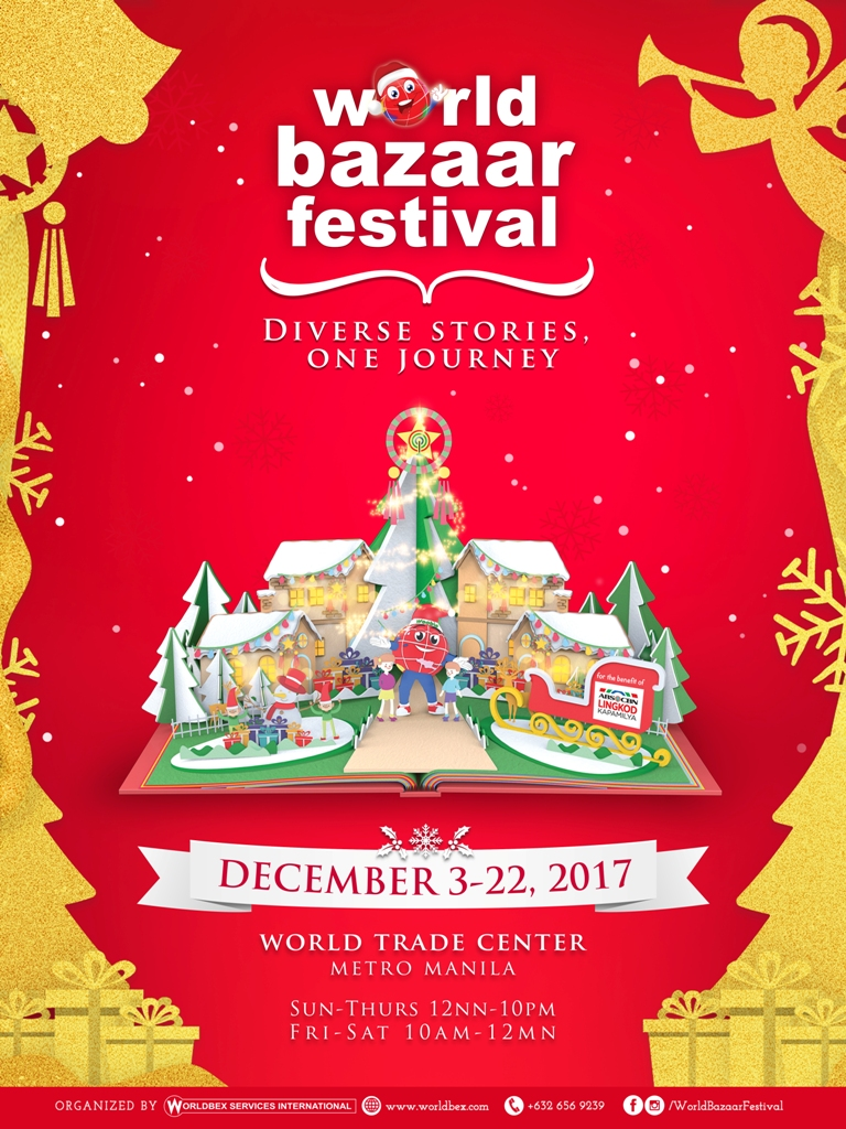 now in its 17th year everyones favorite holiday destination just keeps getting bigger and brighter the world bazaar festival will give us another