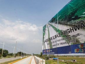 2nd phase of Laguna Lake Highway now open to motorists