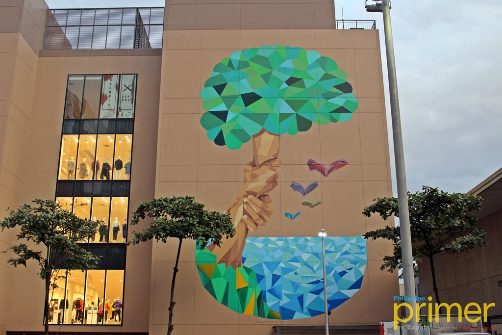Bgc arts center unveils 6 artbgc 2017 murals by local and for Bonifacio mural painting