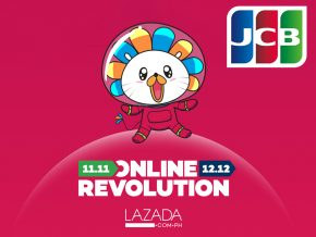 JCB Cardholders, here's your chance to avail 20% off when you shop at LAZADA!
