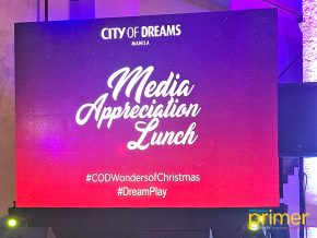 City of Dreams Manila appreciates the media with a spectacular feast