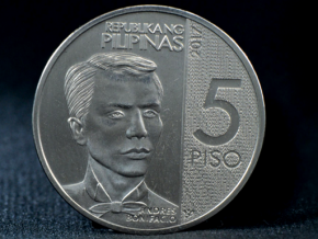 New 5-peso coins now in circulation