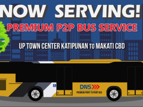 P2P Bus Service launches UP Town Center-Makati CBD route