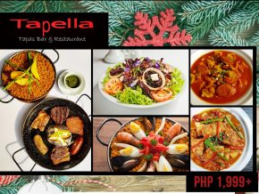 Tapella Tapas Bar and Restaurant's Christmas Deal Promo