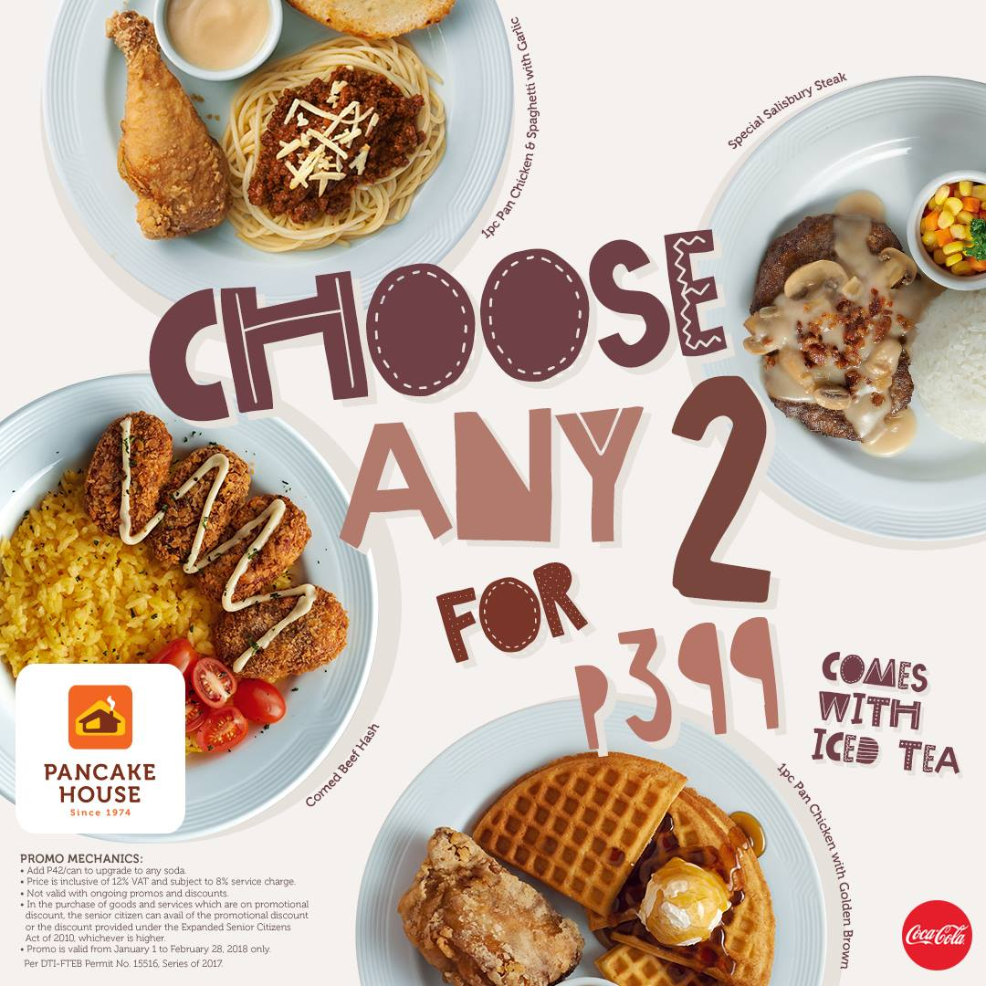 Start the year right with maxs groups exciting offerings pancake house makes eating for two more fun from january 1 to february 28 2018 choose any 2 from these certified bestsellers special salisbury steak ccuart Gallery