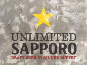 Enjoy Unlimited Sapporo with Dinner Buffet at Ikomai