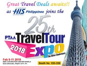 H.I.S. Philippines Travel Corp. joins 25th PTAA Travel Expo