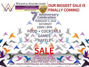 Wilson & Ayache Clinic celebrates 7 years with a SALE