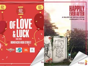 Of Love and Luck: Celebrate Valentine's Day and CNY at BGC this weekend!