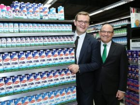 Irish government delegates get a taste of home at Marketplace by Rustan's