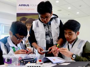 Airbus Foundation launches youth development programme in the Philippines