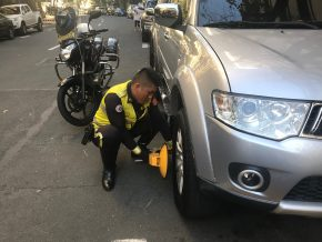 Wheel-clamping to be enforced in BGC