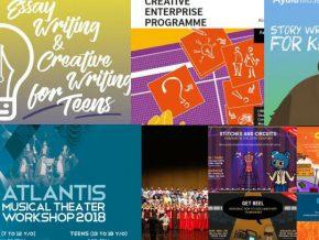 List: Summer Workshops for April to June 2018