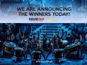 Philippine Primer x Drum Tao Promo Winners