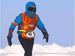 Filipino runner conquers North Pole Marathon