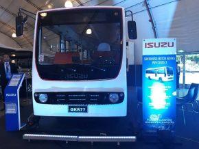 Isuzu QKR Light Truck Debuts at DOTr's PUV Expo
