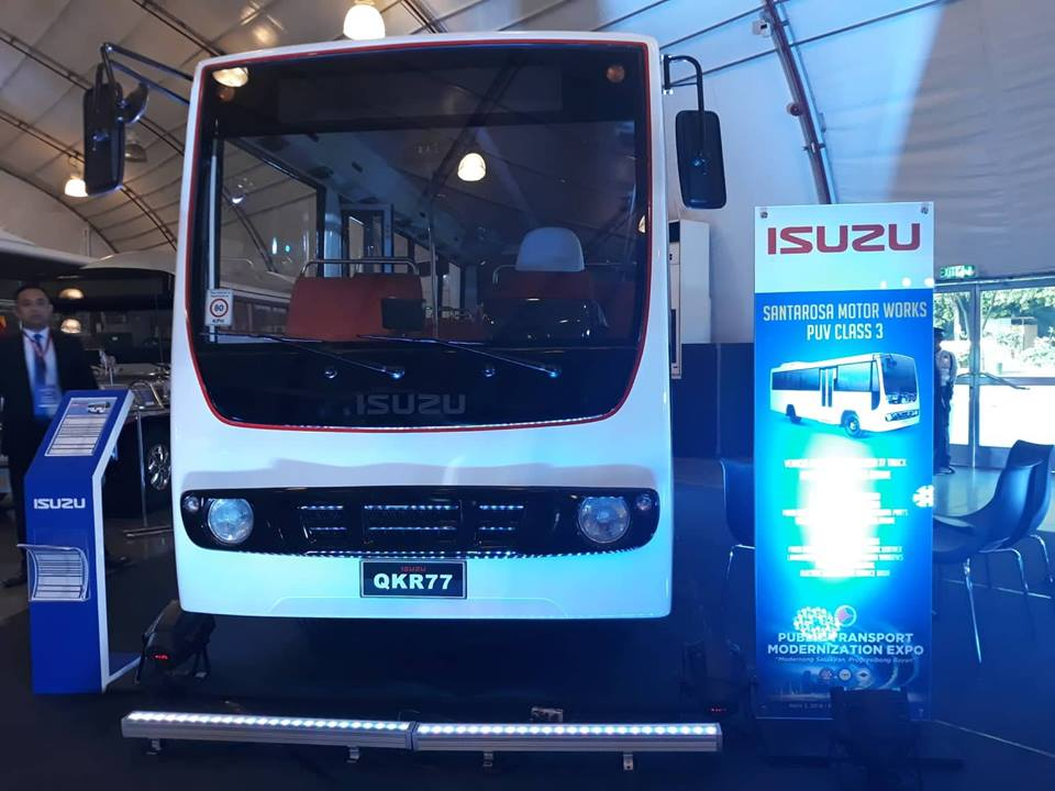 Isuzu Qkr Light Truck Debuts At Dotr S Puv Expo