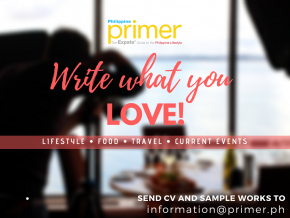 Philippine Primer is looking for WRITERS!