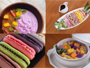Newport Mall's Summer Color Play lets you feast on pastel-colored dishes!