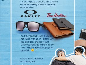SkyJet Father's Day Promo