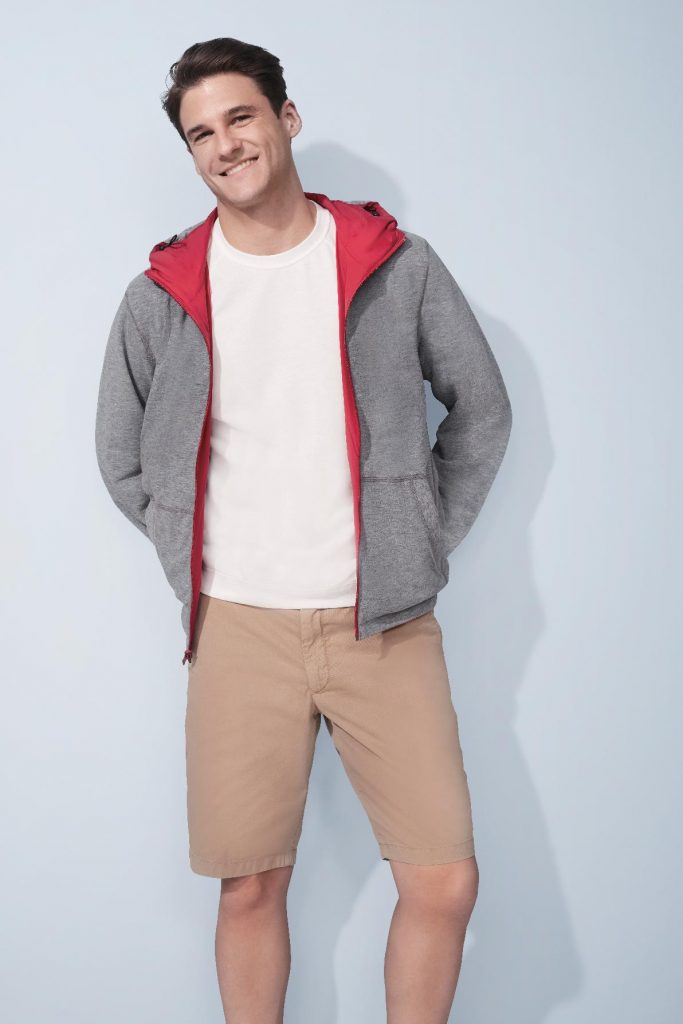 653600a7befc5 The Reversible Parka features a sporty polyester shell and a cottony-soft  lining for a more casual style