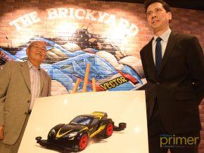 The BrickYard for Tamiya Racers Opens in Glorietta, Makati