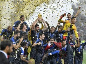 France defeats Croatia in FIFA World Cup 2018 final match