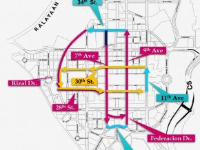 Several BGC Streets to Follow New One Way Scheme