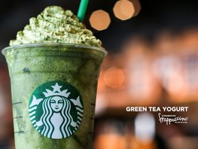Starbucks Mixes Things up with Green Tea Yogurt and Berry Peach Cream Frappuccino