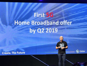 Globe: 5G Broadband Will Be Available by Q2 of 2019