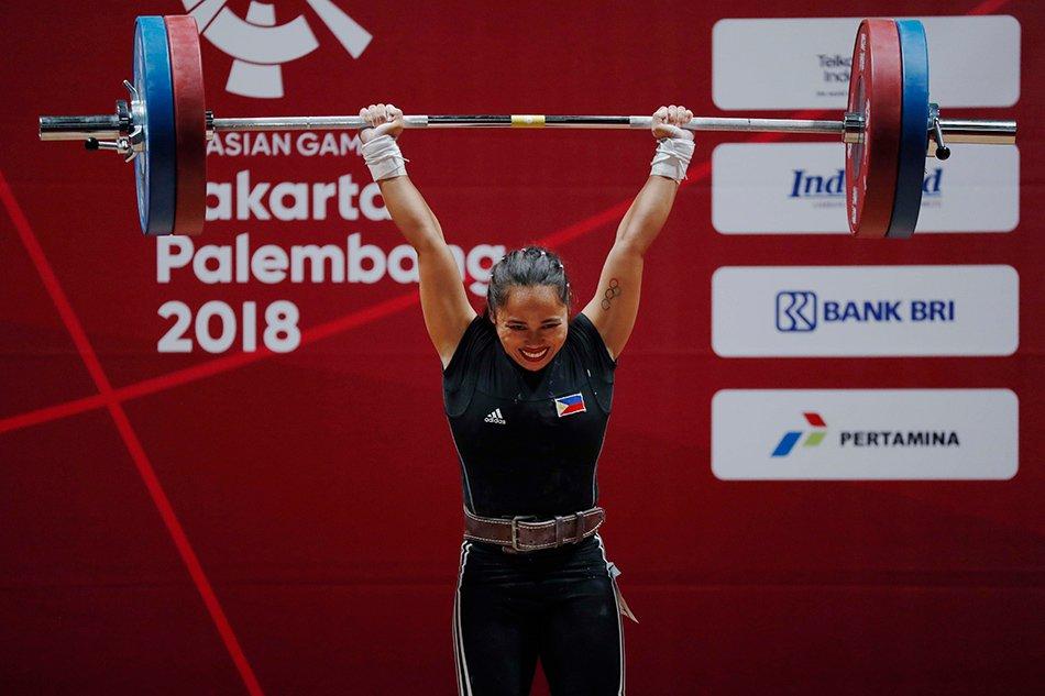 Hidilyn Diaz Wins First Gold In 2018 Asian Games Women S