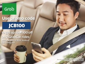 PROMO: Use your JCB Credit Cards to Enjoy Discounts on Grab and Bo's Coffee!