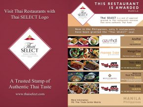 Thai Select: A Trusted Seal For Authentic Thai Dining Experience