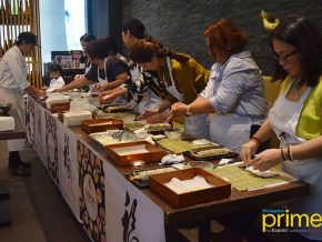 Fukudaya Sushi 101: Chefs Teach Foodies How to Roll