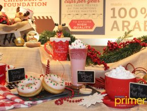 Tim Hortons Launches Their Warm Wishes Campaign, Christmas Menu, Journal and Collections