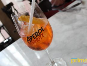 Italian Alcohol Aperol Spritz Hosts Cocktail Mixing Masterclass