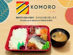 Komoro Japanese Dining Offers More Meals for Makati, BGC Delivery
