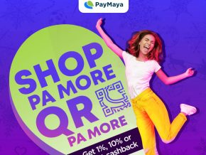 Get Cashbacks Everytime You Purchase With PayMaya This Holiday Season