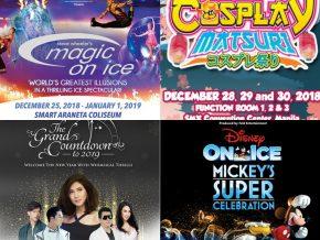 EVENTS IN MANILA: December 29-30, 2018