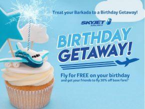Skyjet Offers Free Flights to Birthday Celebrants This December