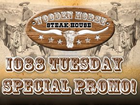 PROMO: Tuesdays Made Better at Wooden Horse Steakhouse