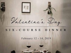 PROMO: Valentine's Day Six-Course Dinner at Ikomai