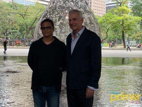 Japanese Artist Shinji Ohmaki Unveils Gravity and Grace in Makati