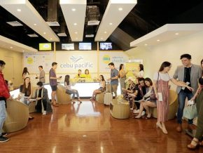 Cebu Pacific, RWM Launch Travelers' Lounge in Newport Mall