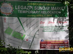 Legazpi Sunday Market Moves Temporarily Due to Car Park Construction