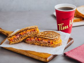 Tim Hortons' Lent and Summer Treats: Fizz Coolers and Tuna Melt