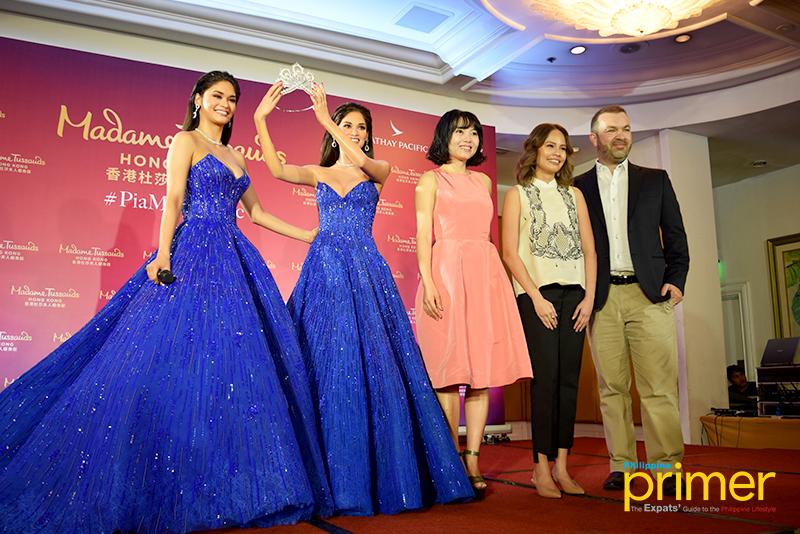 Pia Wurtzbach is Madame Tussauds' First Filipino Wax Figure